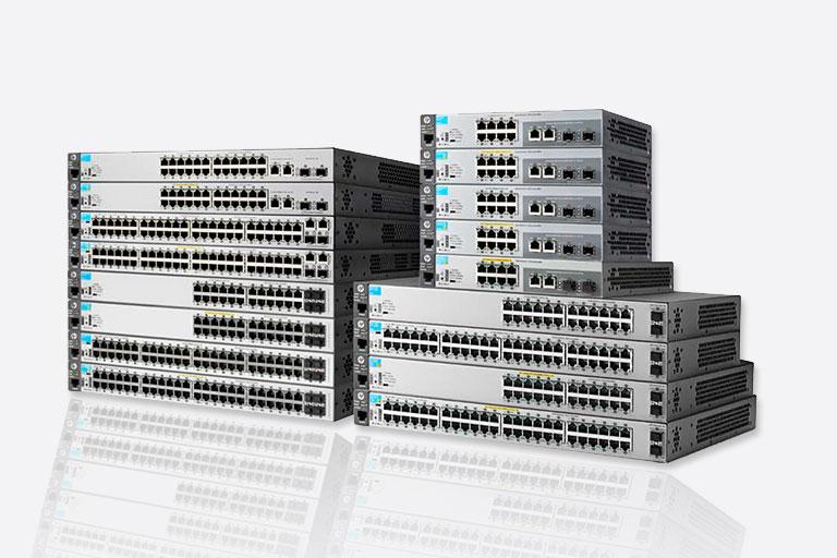 HP 2530 switch